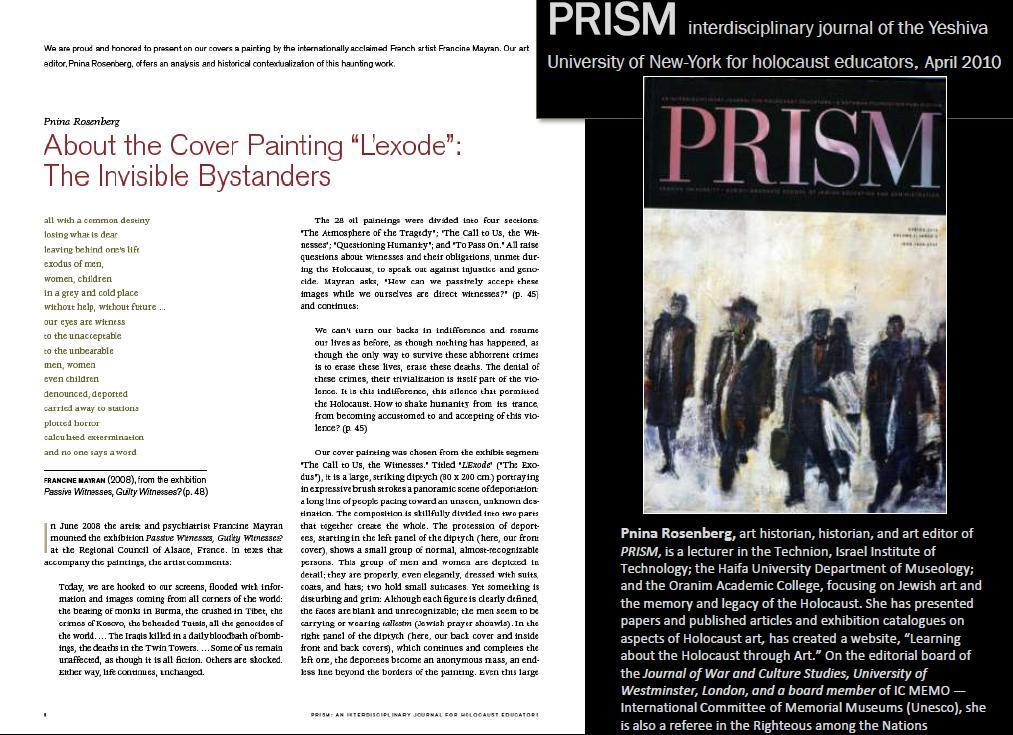 PRISM, AMERICAN JOURNAL OF THE YESHIVA UNIVERSITY OF NEW-YORK. Spring 2010