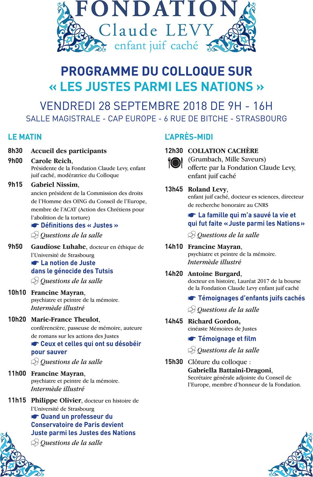 STRASBOURG. Cap Europe. Colloque